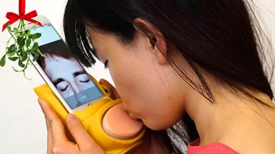 Öpücüğünüzü Uzaktaki Sevdiğinize Ulaştıran Teknoloji!